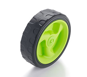 Image of Gtech Cordless Lawnmower Wheel