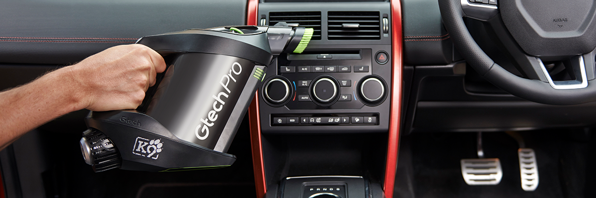 Take it up a gear - car cleaning made easy with Gtech