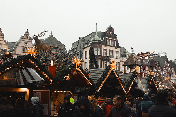 Christmas markets and Christmas shopping with Gtech