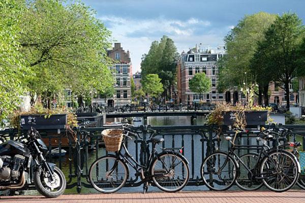 City cycling: Amsterdam