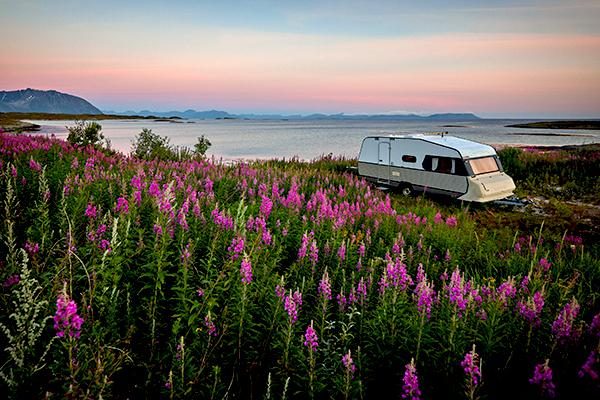 Keep your caravan clean on adventures