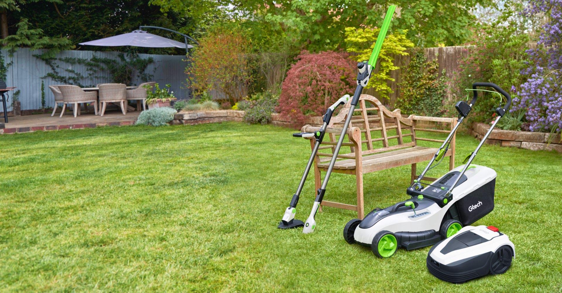 Gtech garden tools homepage