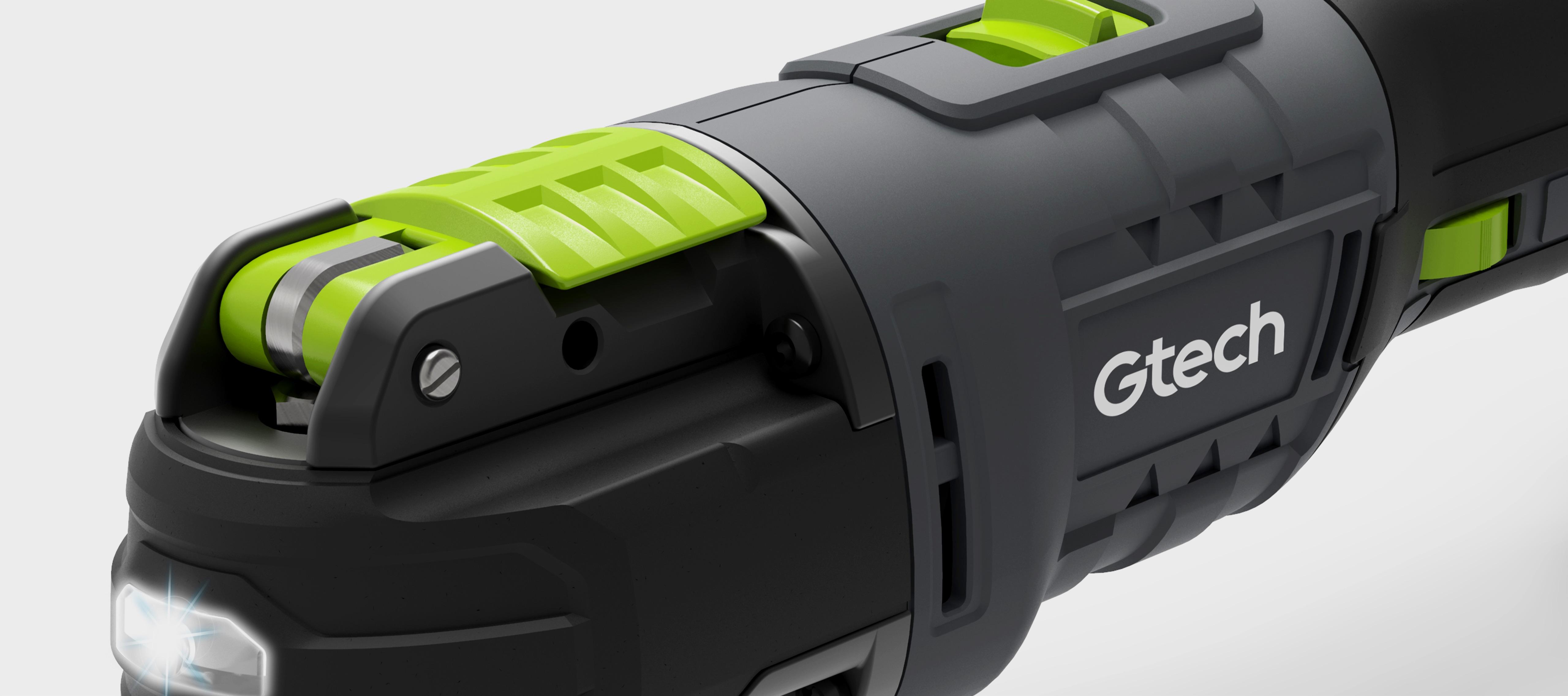 Cordless multi-tool controls