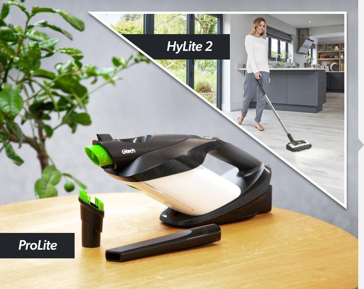 HyLite 2 and ProLite lightweight, bagged vacuum bundle