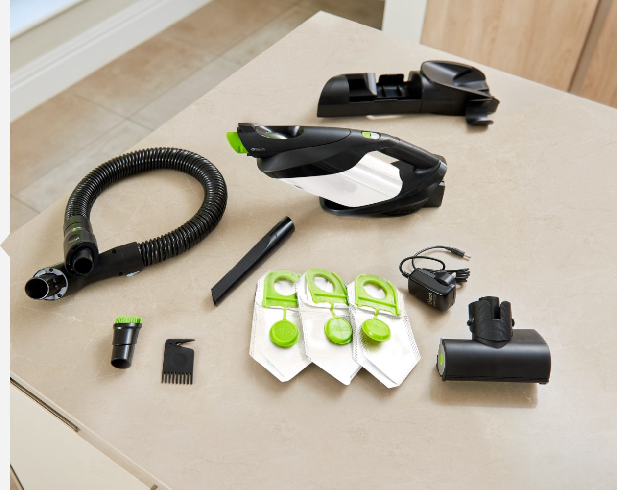Compatible attachments with the ProLite handheld hoover