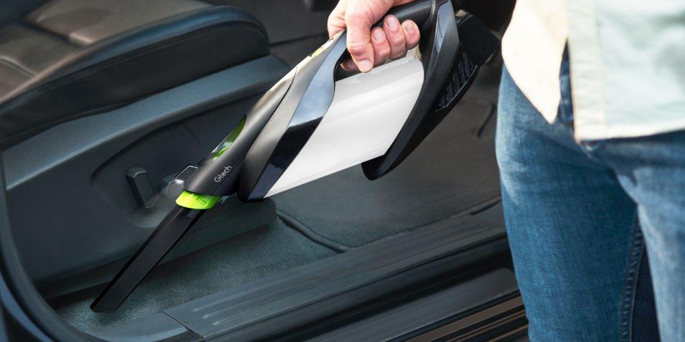 ProLite handheld vacuum crevice tool in door pockets