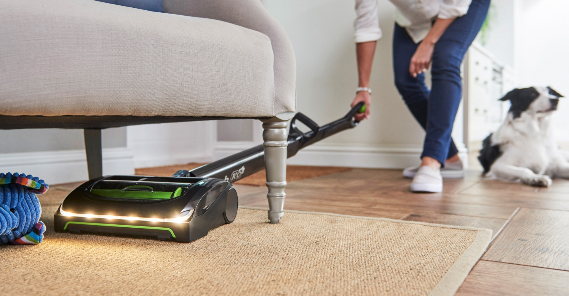 AirRam K9 cordless vacuum cleaner long run time