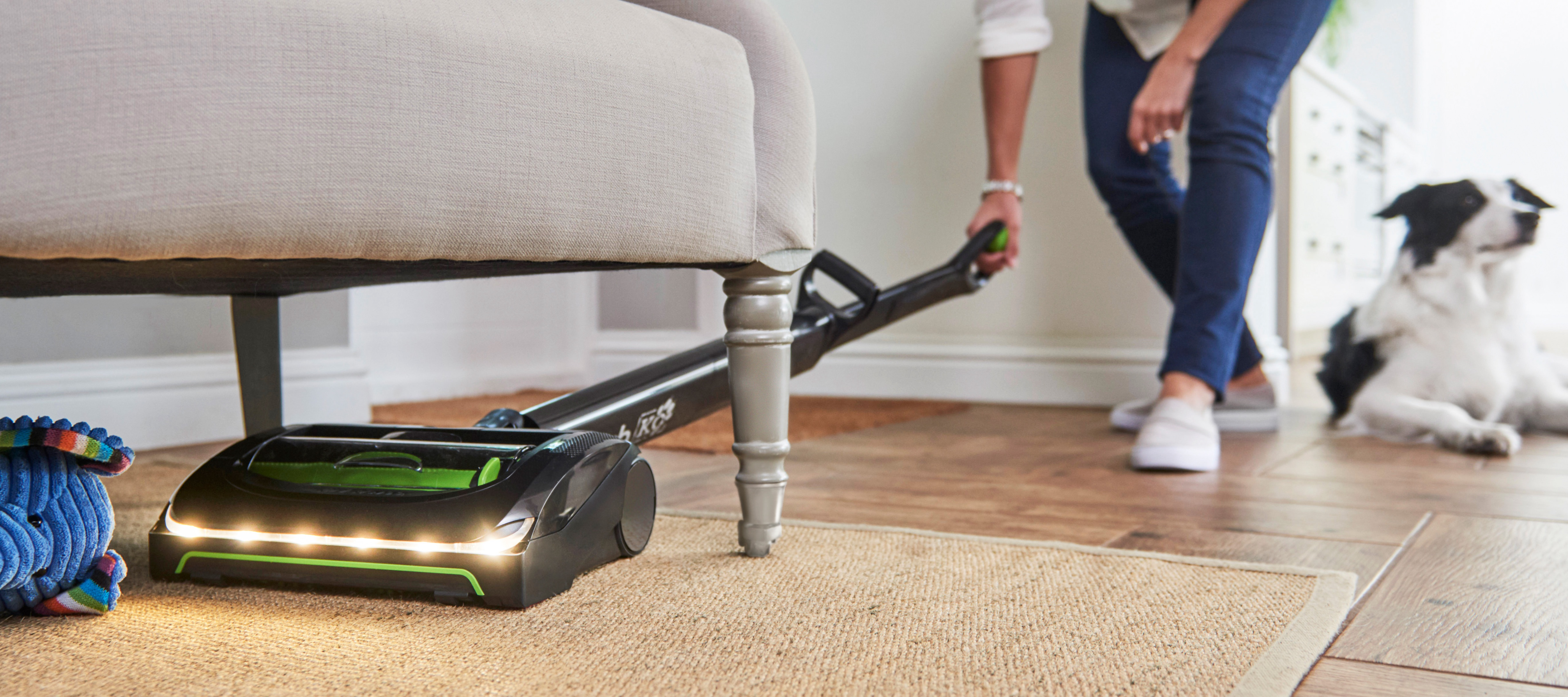 AirRam K9 cordless vacuum cleaner powered brush head long runtime