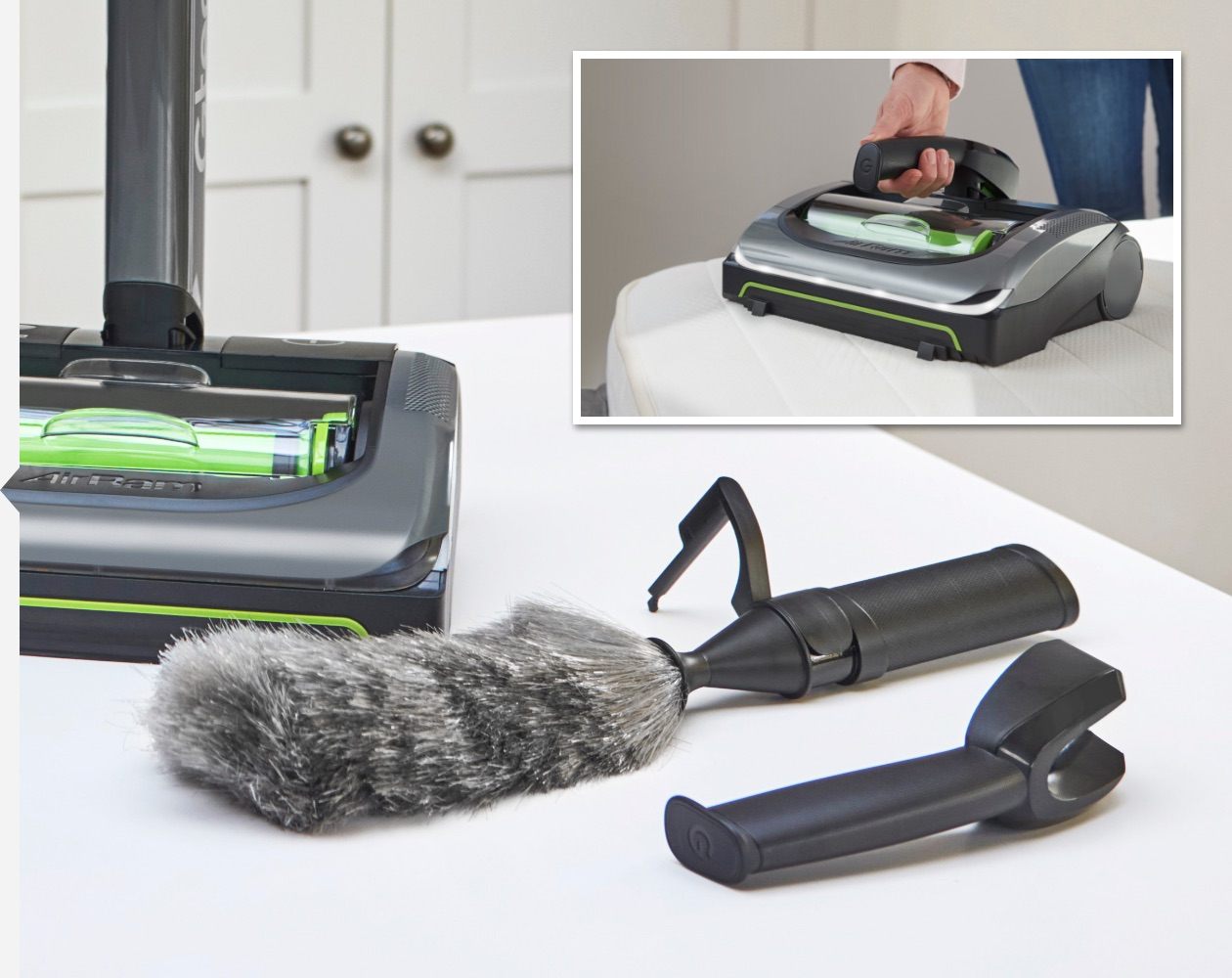 AirRam cordless vacuum cleaner and speed clean kit