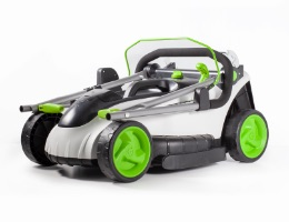Battery powered mower main unit