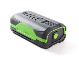 Battery powered mower battery