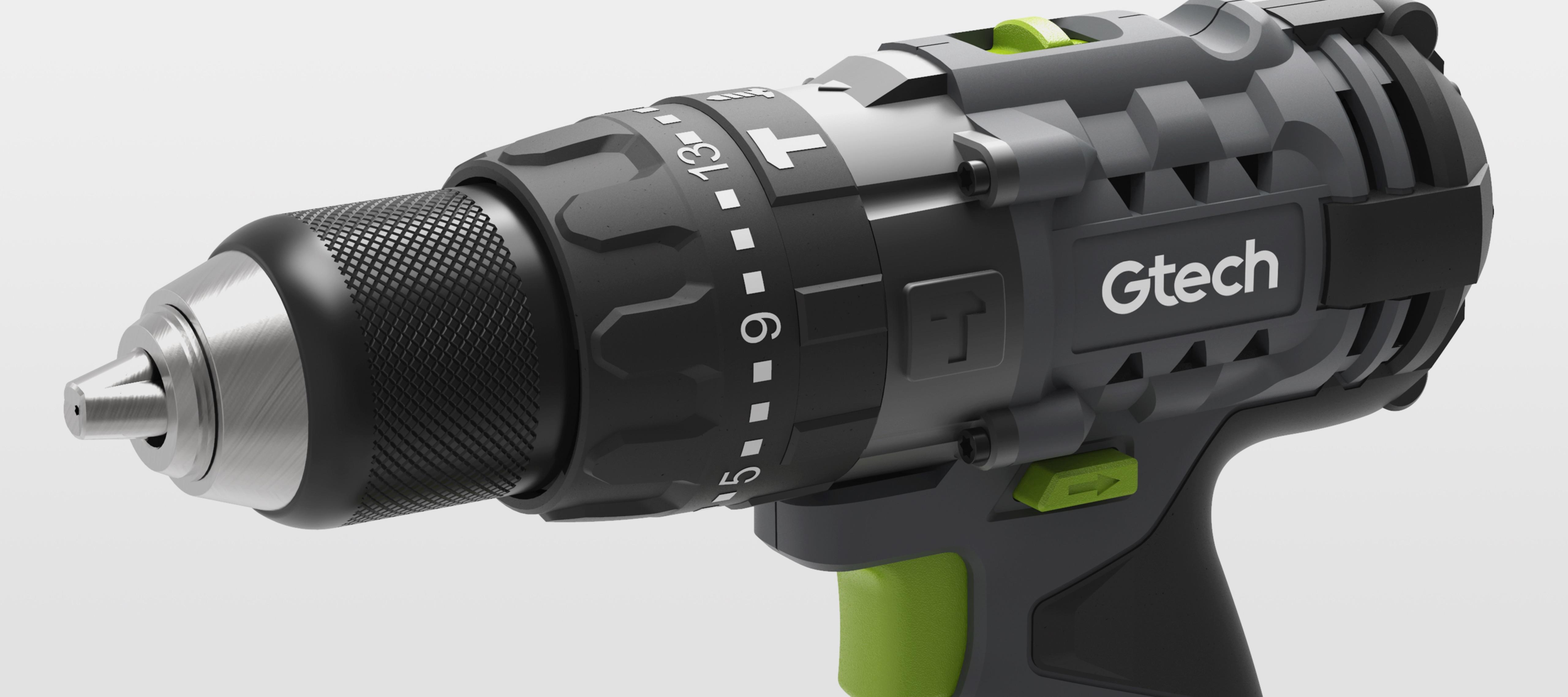 Cordless combi drill controls