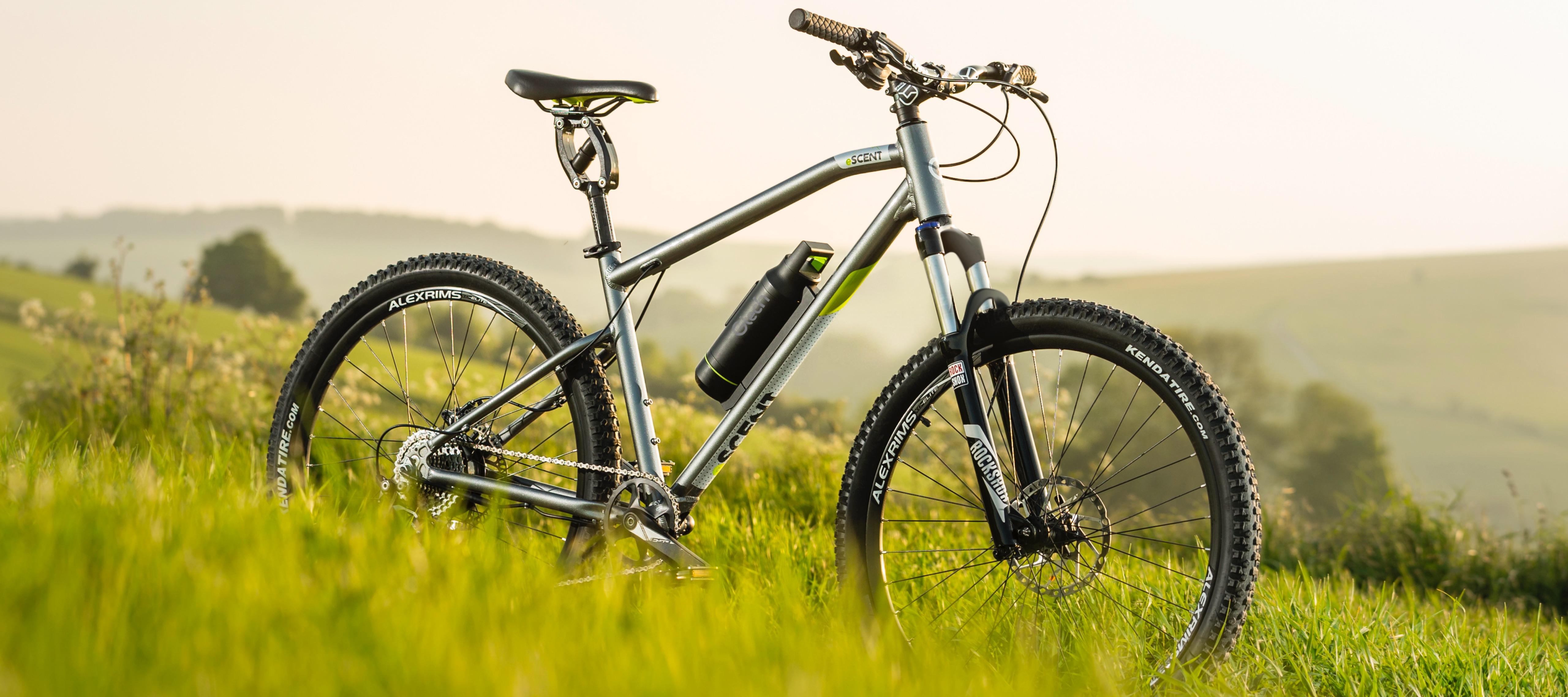 eScent electric mountain bike