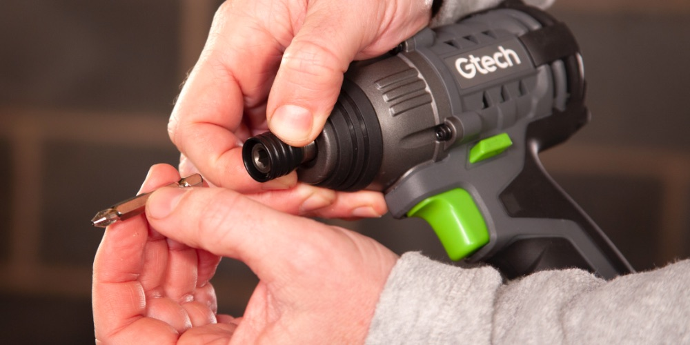 Battery powered impact driver