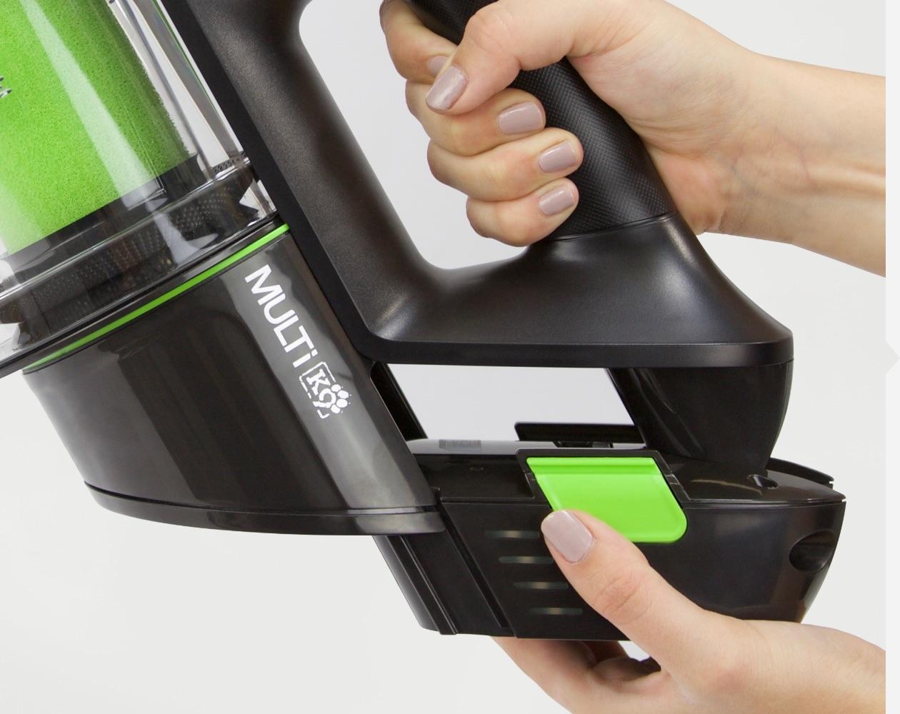 Multi K9 handheld vacuum cleaner long runtime