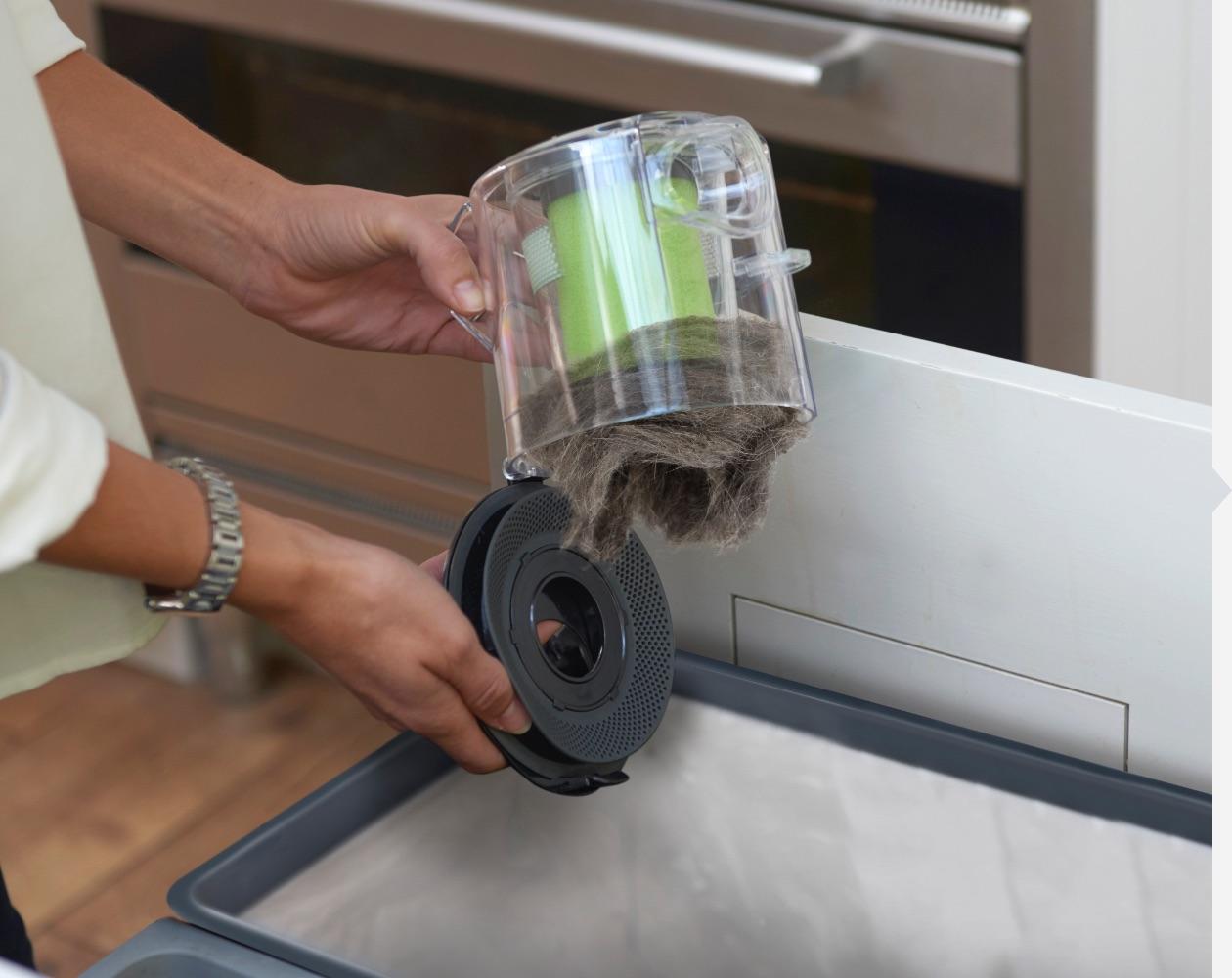 Multi K9 handheld vacuum cleaner easy empty bin