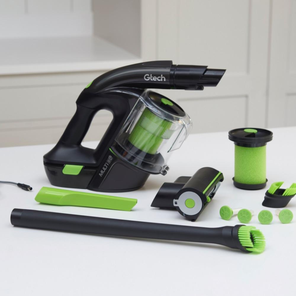 Multi K9 handheld pet vacuum cleaner and attachments