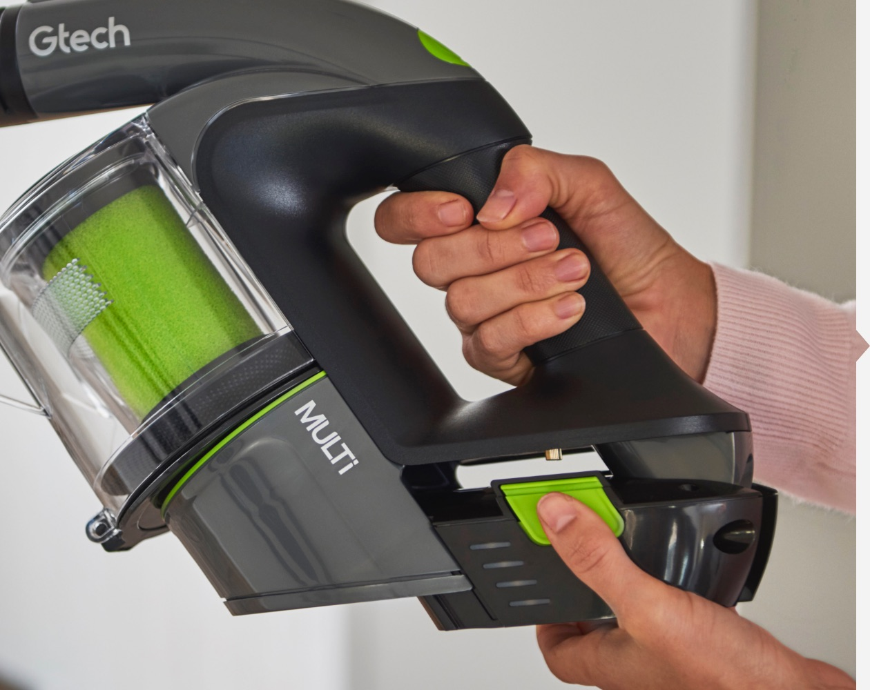 Multi handheld vacuum cleaner long runtime