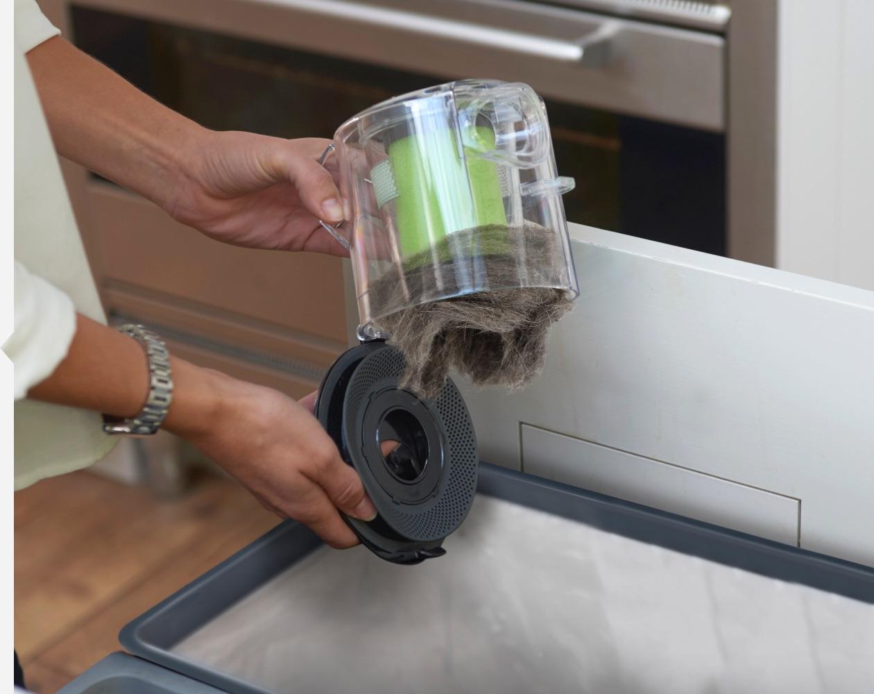 Multi handheld vacuum cleaner easy empty bin