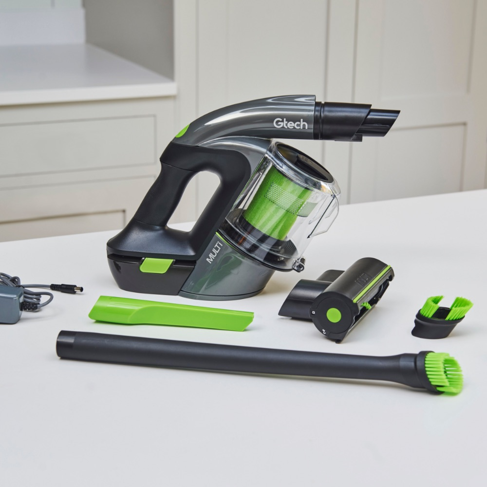 Multi handheld vacuum cleaner and attachments