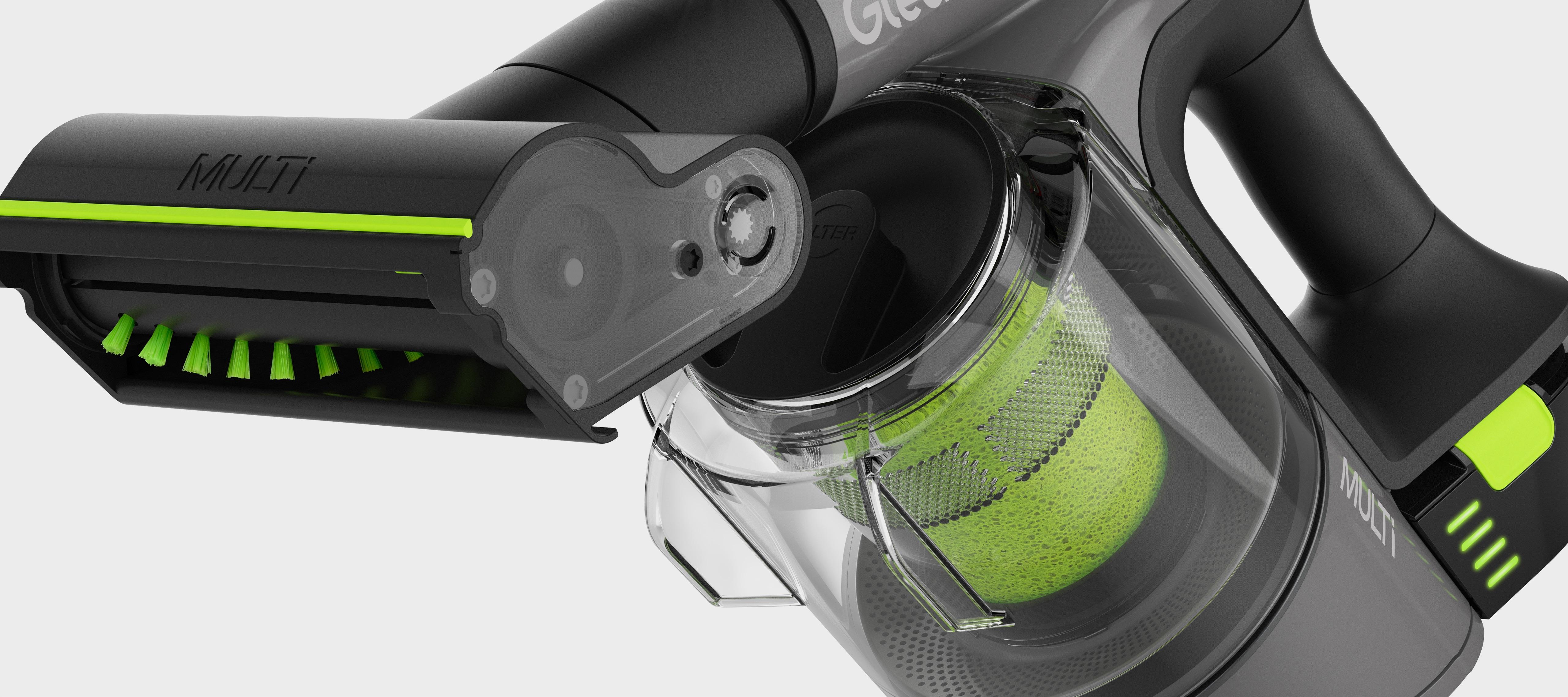 Multi handheld cordless vacuum cleaner