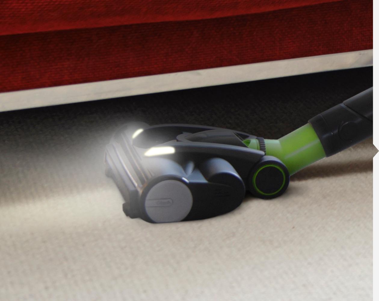 Pro 2 K9 lightweight stick vacuum cleaner LED lights