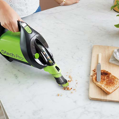 Pro 2 bagged vacuum cleaner handheld mode