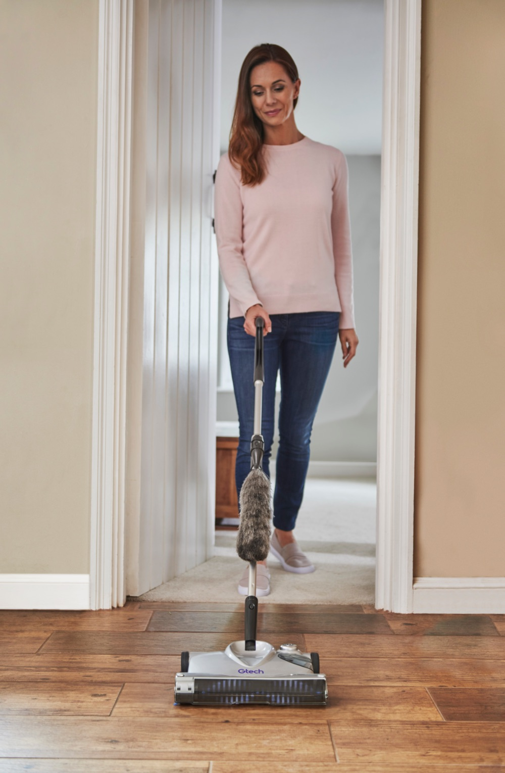 SW02 advanced carpet sweeper duster attachment
