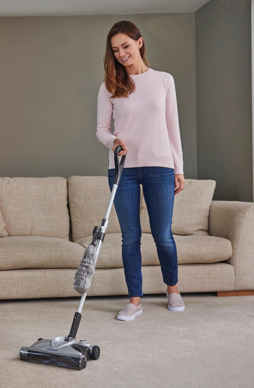 SW02 advanced cordless carpet sweeper