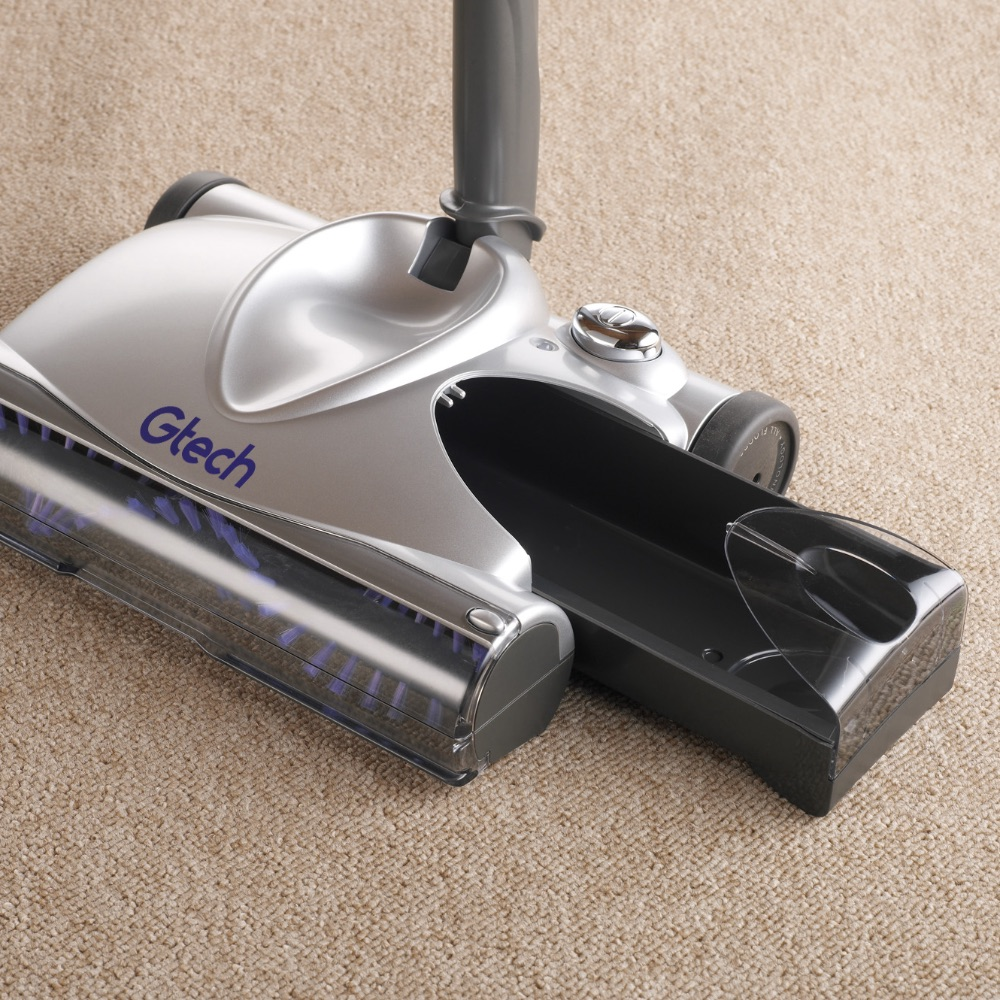 SW02 advanced carpet sweeper dust tray